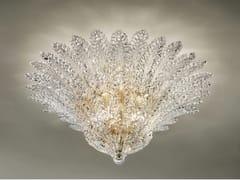 - Crystal ceiling lamp RIALTO PL 46F - Vetreria Vistosi