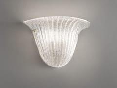 - Glass wall light RIGA AP 40 - Vetreria Vistosi