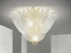 - Glass ceiling lamp ROMANZA PL 30F - Vetreria Vistosi