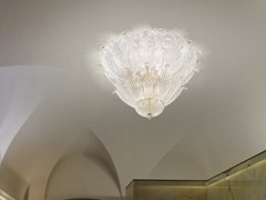 - Glass ceiling lamp ROMANZA PL 10F - Vetreria Vistosi