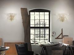 - Glass wall lamp SAN GIORGIO AP 7F P - Vetreria Vistosi