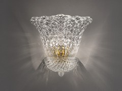 - Glass wall lamp SAN MARCO AP 5F G - Vetreria Vistosi