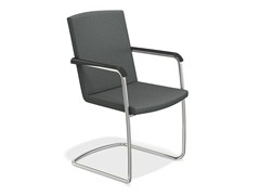 - Cantilever chair with armrests LEON | Cantilever chair - Casala