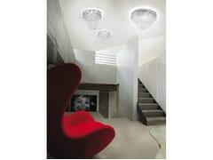 - Crystal ceiling lamp GIOGALI PL - Vetreria Vistosi