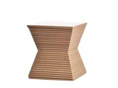- Kraft paper stool PEPPER - Staygreen