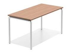 - Wooden bench desk LACROSSE I | Bench desk - Casala