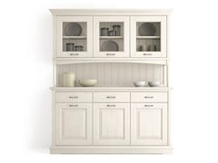 - Wooden highboard with doors with drawers ARIETTE | Highboard with doors - Scandola Mobili