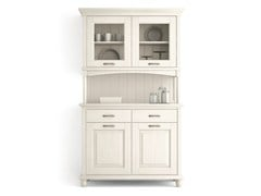 - Wooden highboard with doors with drawers ARIETTE | Highboard - Scandola Mobili