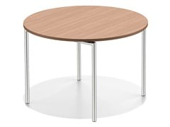 - Round wooden table LACROSSE II | Round table - Casala