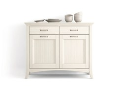 - Wooden sideboard with doors with drawers ARCANDA | Sideboard - Scandola Mobili