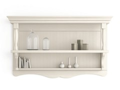 - Open wooden wall cabinet with shelves TABIÀ | Open wall cabinet - Scandola Mobili