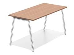 - Wooden bench desk LACROSSE III | Bench desk - Casala