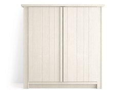 - Wooden highboard with doors MAESTRALE | Highboard with doors - Scandola Mobili