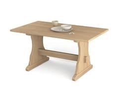 - Rectangular wooden table FRATINO | Rectangular table - Scandola Mobili