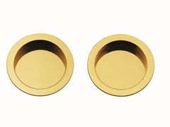 - Recessed brass door handle KIT A - Frascio