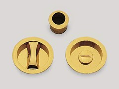 - Recessed brass door handle KIT E - Frascio