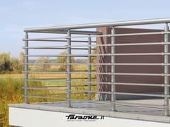 - Aluminium balustrade PENTA A - FARAONE