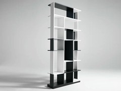 - Sectional wooden bookcase SUDOKU - HORM.IT