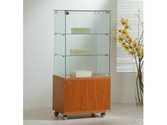 - Retail display case with casters VE60130M | Retail display case - Castellani.it