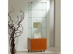 - Retail display case with casters VE60180M | Retail display case - Castellani.it