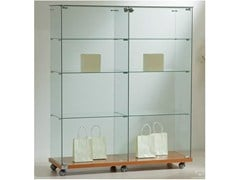 - Retail display case with casters VE120140 | Retail display case - Castellani.it