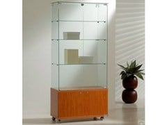 - Retail display case with casters VE80180M | Retail display case - Castellani.it