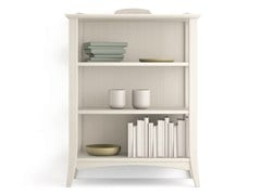 - Open wooden bookcase ARCANDA | Open bookcase - Scandola Mobili