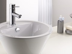 - Countertop 1 hole washbasin mixer without waste MINIMAL | Washbasin mixer without waste - Remer Rubinetterie