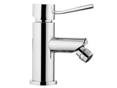 - Chrome-plated countertop bidet mixer with aerator MINIMAL | Countertop bidet mixer - Remer Rubinetterie