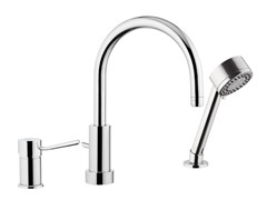 - Countertop kitchen mixer tap with diverter with spray MINIMAL | Kitchen mixer tap with diverter - Remer Rubinetterie