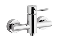 - Single handle chromed brass shower mixer MINIMAL | Single handle shower mixer - Remer Rubinetterie