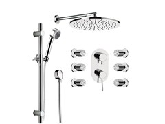 - Shower mixer with overhead shower MINIMAL | Shower mixer - Remer Rubinetterie