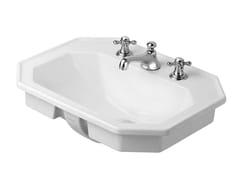 - Inset ceramic washbasin SERIE 1930 | Inset washbasin - DURAVIT