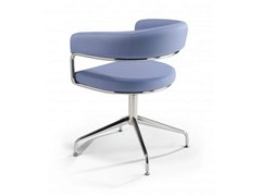 - Trestle-based chair with armrests RUBINO | Trestle-based chair - Castellani.it
