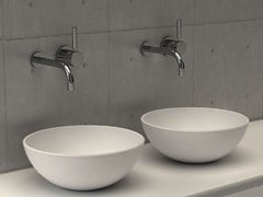- Countertop round washbasin GOLD BASIN 3 - DIMASI BATHROOM by Archiplast