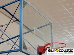 - Acoustic rock wool ceiling tiles ACOUSTICHOC® IMPACT 30 - Saint-Gobain Gyproc
