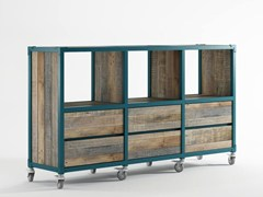 - Wooden sideboard with drawers AK- 14 | Sideboard with drawers - KARPENTER
