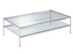 Tavolino rettangolare in cristallo sanzeno 680 by zanotta for Tavolini cristallo