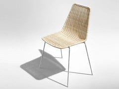 - Woven wicker chair SIN - HORM.IT