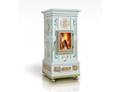 - Wood-burning ceramic stove VIENNA | Stove - LA CASTELLAMONTE STUFE