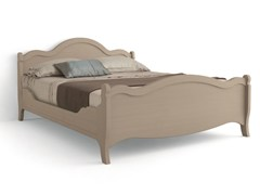 - Wooden double bed TABIÀ | Double bed - Scandola Mobili