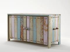- Wooden sideboard with doors ROPE ME   Sideboard - KARPENTER