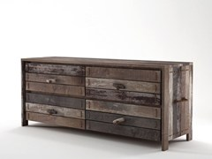 - Contemporary style wooden chest of drawers with drawers ROPE ME   Chest of drawers - KARPENTER
