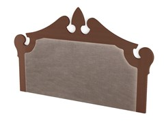 - Upholstered wooden headboard ROYAL | Upholstered headboard - Scandola Mobili