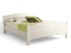 - Wooden double bed LUNA | Double bed - Scandola Mobili