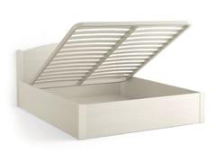 - Wooden storage bed LUNA | Storage bed - Scandola Mobili