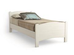 - Wooden single bed LUNA | Single bed - Scandola Mobili