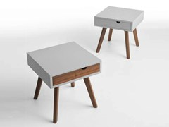 - Wooden coffee table / bedside table IO E TE - HORM.IT