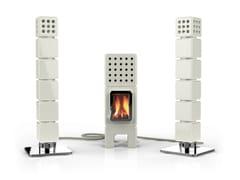 - Wood-burning ceramic stove THERMOSTACK - LA CASTELLAMONTE STUFE