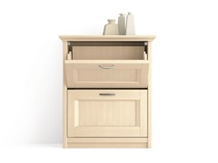 - Wooden shoe cabinet Wooden shoe cabinet - Scandola Mobili